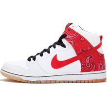 Load image into Gallery viewer, Nike SB Dunk High Pro white/varsity red-medium denim-black
