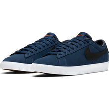 Load image into Gallery viewer, Nike SB Orange Label Zoom Blazer Low GT ISO midnight navy/black-midnight navy