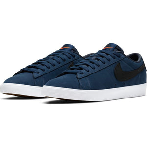 Nike SB Orange Label Zoom Blazer Low GT ISO midnight navy/black-midnight navy