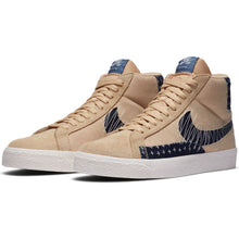 Load image into Gallery viewer, Nike SB Zoom Blazer Mid Premium sesame/mystic navy-sail-gum light brown