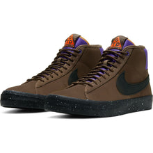 Load image into Gallery viewer, Nike SB Zoom Blazer Mid Pro GT QS trails end brown/black-prism violet