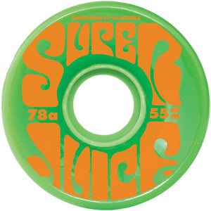 OJ Mini Super Juice 78A Green wheels 55mm