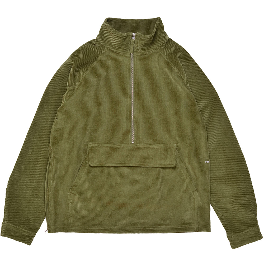 Pop Trading Company DRS Halfzip Jacket hunting green