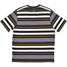 Load image into Gallery viewer, Pop Trading Company Striped Pocket T shirt multicolour