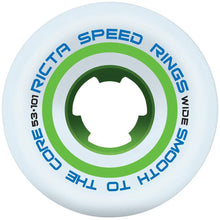 Load image into Gallery viewer, Ricta Speedrings Wide 101a white/green wheels 53mm