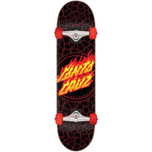 Load image into Gallery viewer, Santa Cruz Flame Dot Full complete skateboard 8""