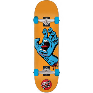 Santa Cruz Screaming Hand Mid complete skateboard 7.8""