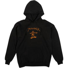 Load image into Gallery viewer, Thrasher Gonz Hood black/orange