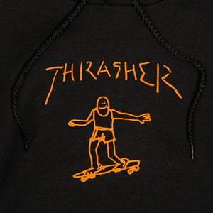 Thrasher Gonz Hood black/orange