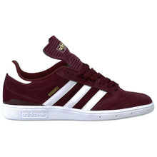 Load image into Gallery viewer, Adidas Busenitz Pro light maroon/running white/metallic gold