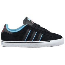 Load image into Gallery viewer, Adidas Campus Vulc black/light aqua/light scarlet