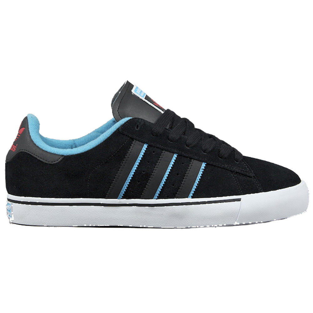 Adidas Campus Vulc black/light aqua/light scarlet