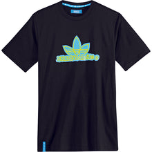 Load image into Gallery viewer, Adidas Gonz Logo black/bluebird T shirt