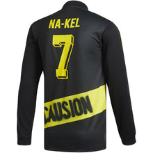 Load image into Gallery viewer, adidas Na-Kel Jersey black/yellow/bright orange/red