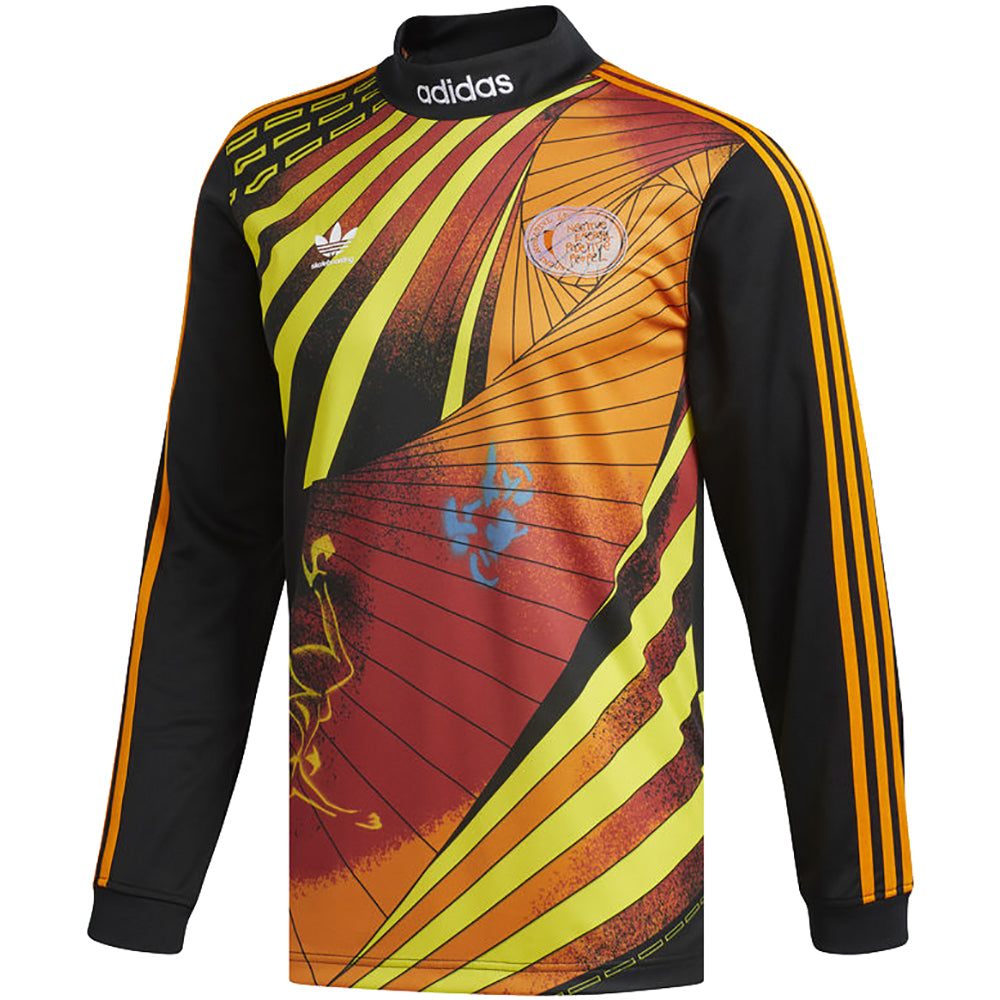 adidas Na-Kel Jersey black/yellow/bright orange/red