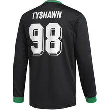 Load image into Gallery viewer, adidas Tyshawn Jersey black/green