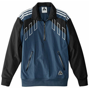 Adidas x Palace Half Zip Track Top rich blue/black jacket