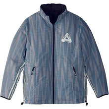 Load image into Gallery viewer, Adidas x Palace reversible multi colour/black down jacket