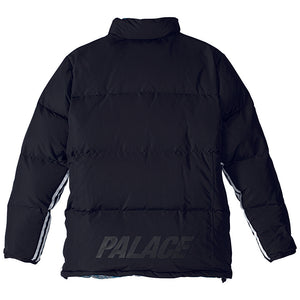 Adidas x Palace reversible multi colour/black down jacket