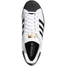 Load image into Gallery viewer, adidas Superstar ADV cloud white/core black/gold metallic