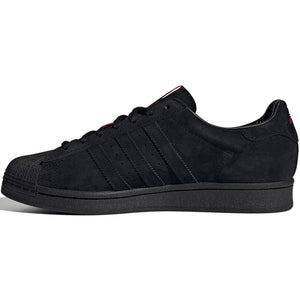 adidas x Thrasher Superstar ADV core black/scarlet/gold metallic
