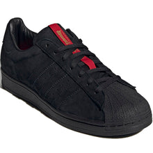 Load image into Gallery viewer, adidas x Thrasher Superstar ADV core black/scarlet/gold metallic