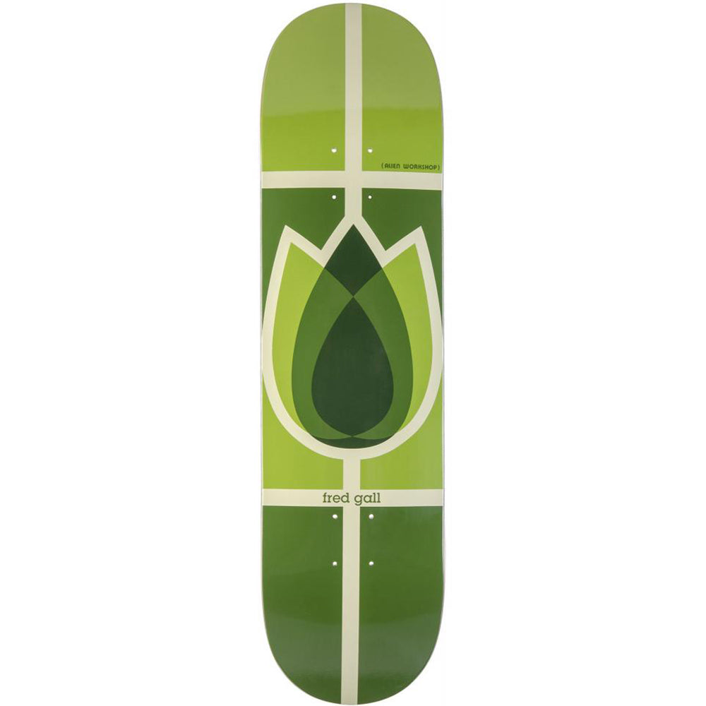 Alien Workshop Fred Gall Flower Reissue deck 8.25