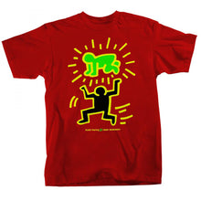 Load image into Gallery viewer, Alien Workshop Keith Haring Elevated Baby Red T Shirt