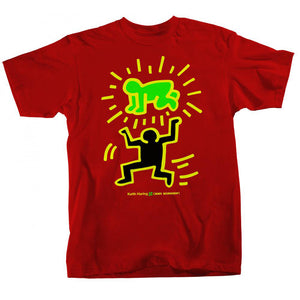 Alien Workshop Keith Haring Elevated Baby Red T Shirt