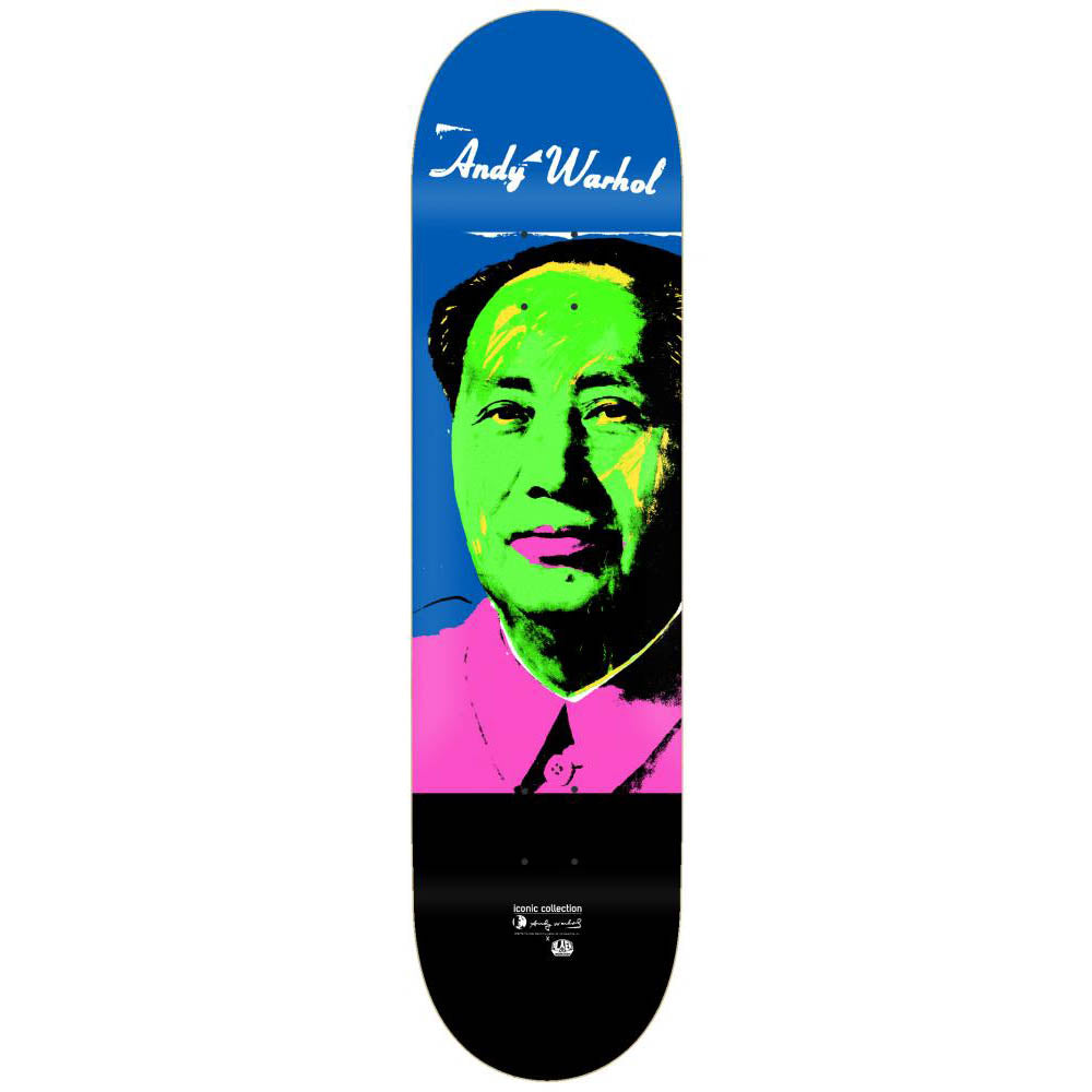 Alien Workshop Warhol Iconic Mao deck