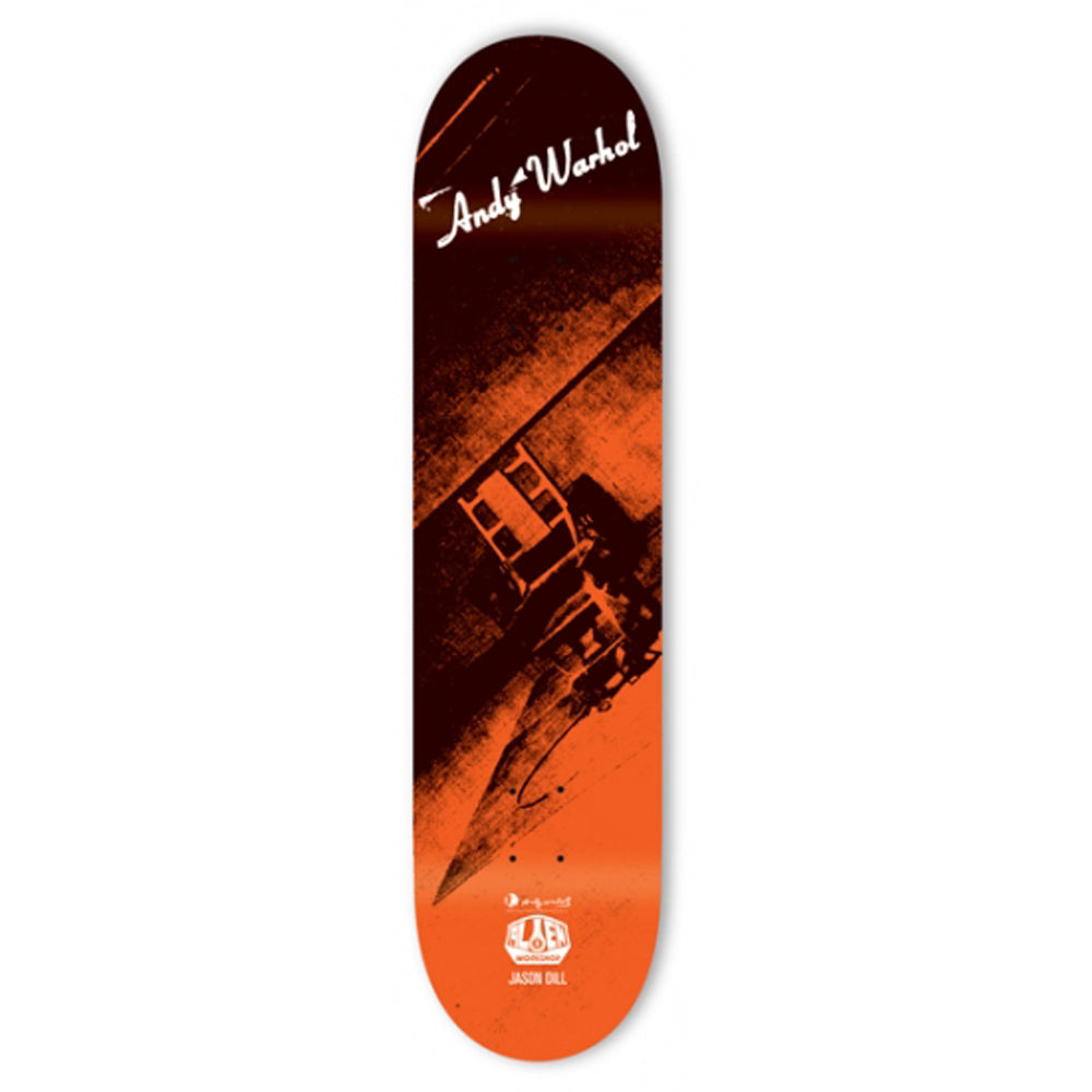 Alien Workshop Dill Andy Warhol deck