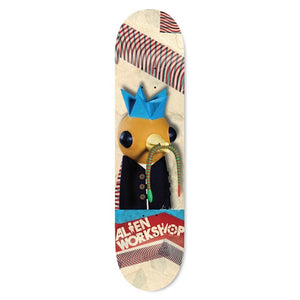 Alien Workshop Snake Bird Mache deck