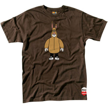 Load image into Gallery viewer, Almost x Amos Bunny brown T shirt