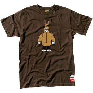 Almost x Amos Bunny brown T shirt