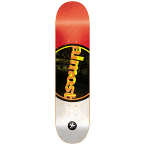 "Almost Dipstick red/black/white 7.5"" deck"