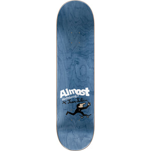 Almost Max Pets White deck 8.125""