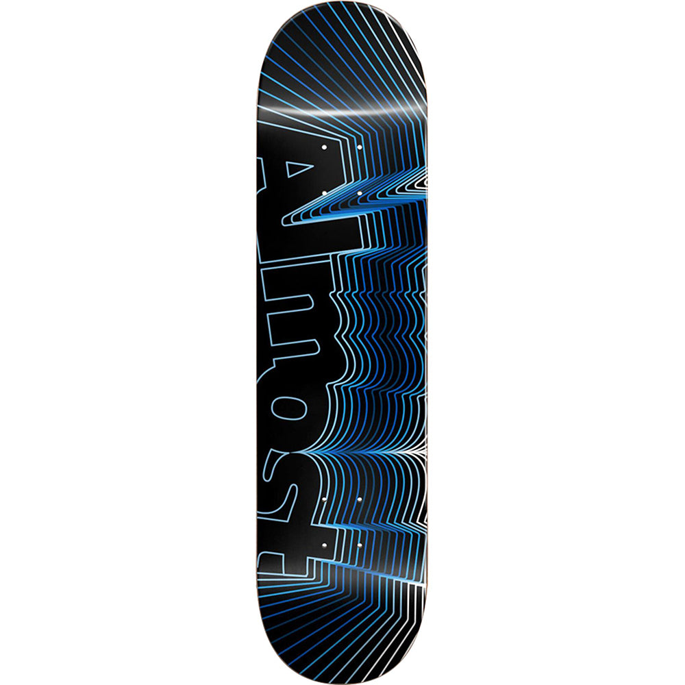 Almost Vibrate Logo Blue deck 8