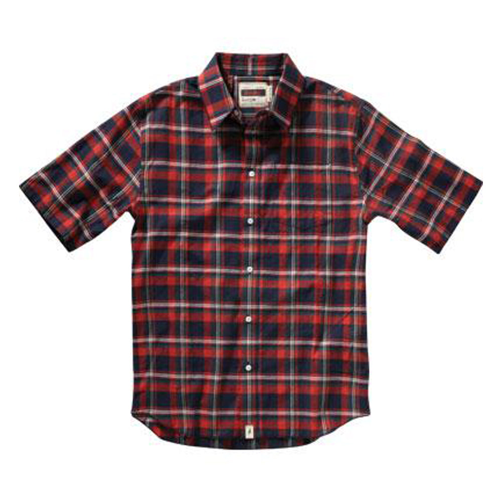 Altamont Bossman Short Sleeve navy shirt