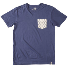 Load image into Gallery viewer, Altamont Motif Navy Pocket T shirt
