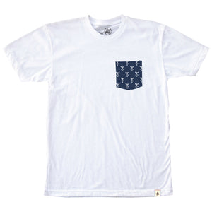 Altamont Motif White Pocket T shirt