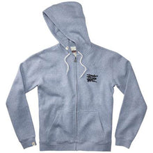 Load image into Gallery viewer, Altamont No Logo blue heather zip hood