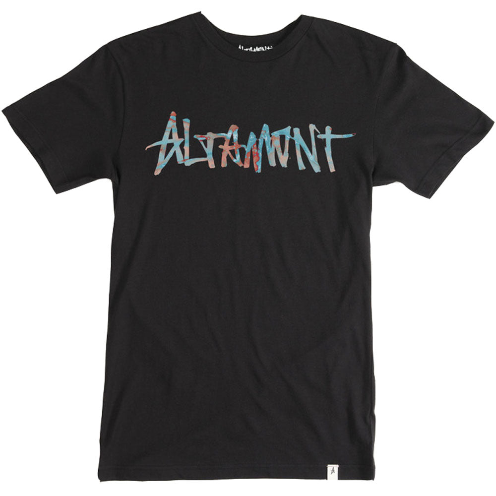 Altamont One Liner black T shirt