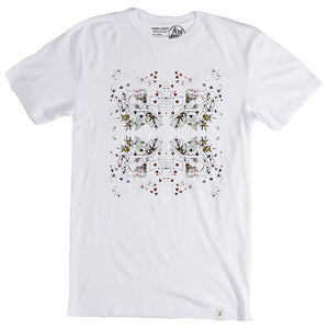 Altamont Panda Bear White T shirt