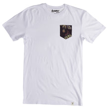 Load image into Gallery viewer, Altamont Perennial White Pocket T shirt
