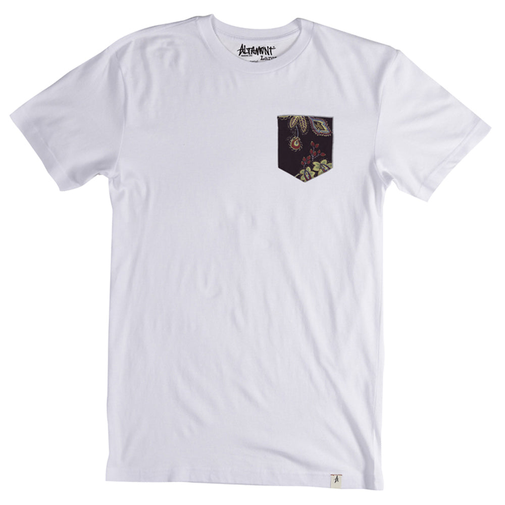 Altamont Perennial White Pocket T shirt