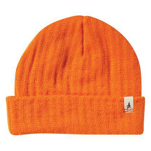 Altamont Rolled orange beanie