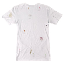 Load image into Gallery viewer, Altamont S Evans Poor Stains White T shirt