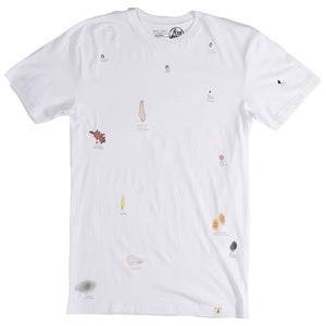 Altamont S Evans Poor Stains White T shirt