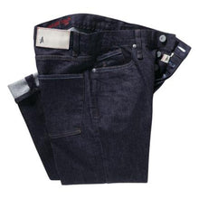 "Load image into Gallery viewer, Altamont Wilshire Slouch indigo denim 32"" leg"