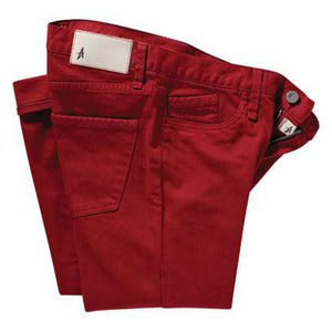 "Altamont Reynolds Alameda red denim 30"" leg"